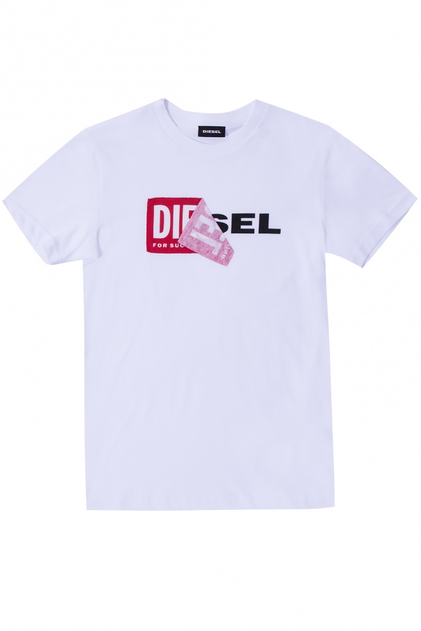 Diesel Kids T-shirt with logo