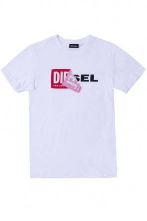T-shirt with logo od Diesel