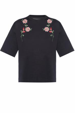 Embroidered t-shirt od Diesel Black Gold