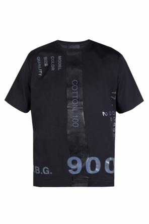 Printed t-shirt od Diesel Black Gold
