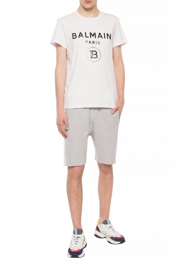 Balmain T-shirt z logo IF5qYnJ0