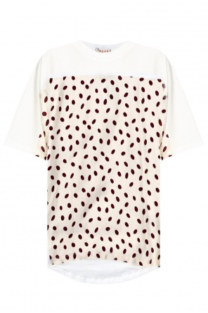 T-shirt with geometric motif od Marni