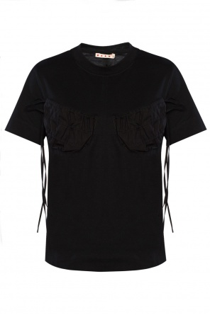 Lacing detail t-shirt od Marni