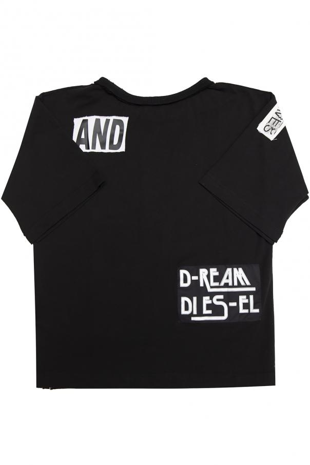 Patched t-shirt od Diesel