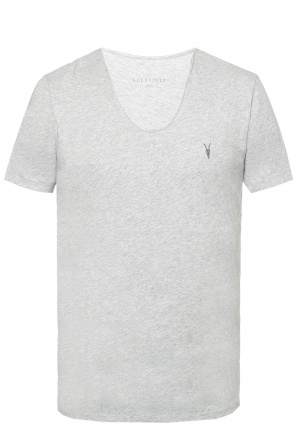 Logo-embroidered t-shirt od Allsaints