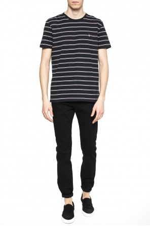 'tonic dean' striped t-shirt od AllSaints