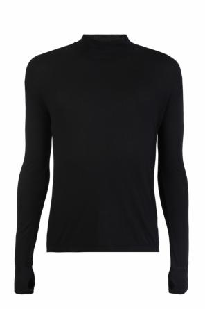 Ribbed turtleneck sweater od Diesel Black Gold for VITKAC