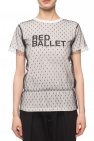 Red Valentino Tulle-trimmed T-shirt