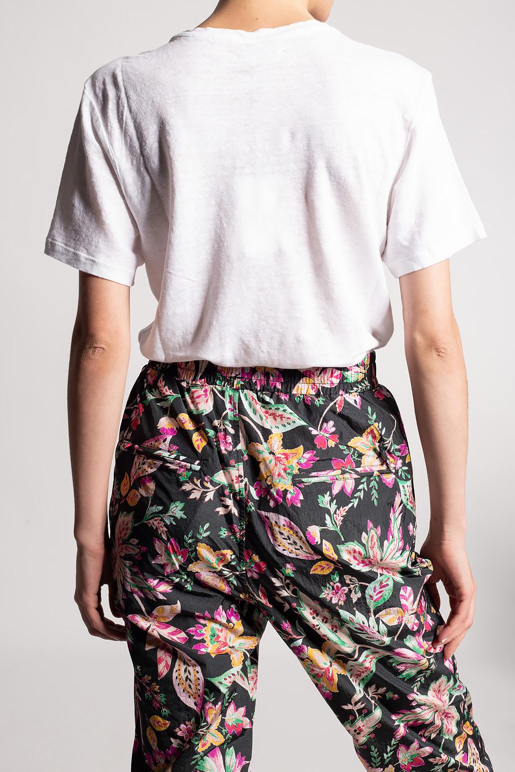 Isabel Marant Etoile T-shirt with logo