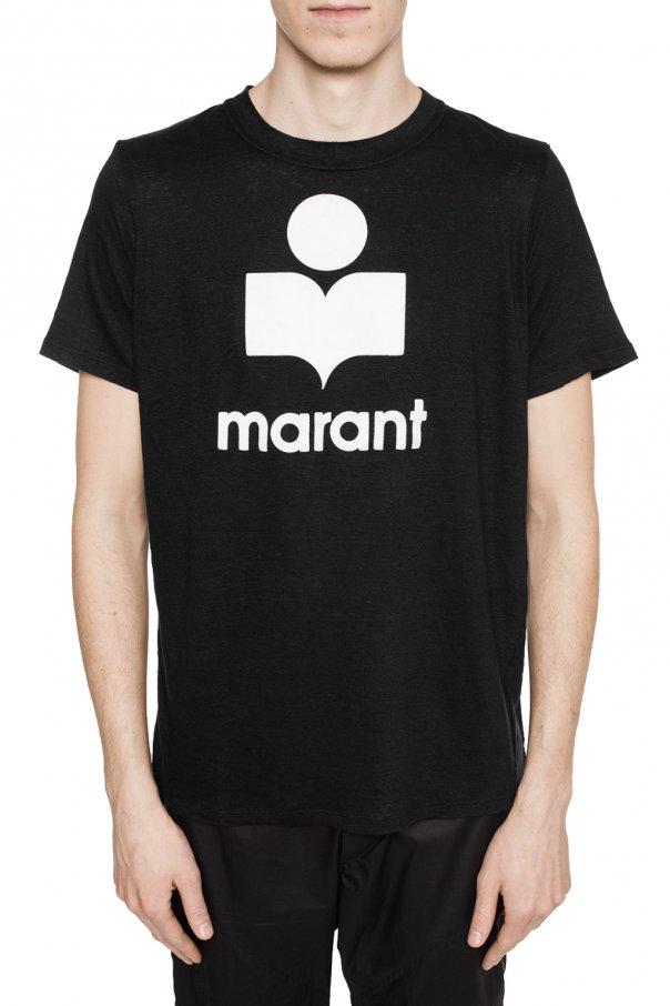 Logo Embossed T Shirt Isabel Marant Vitkac Shop Online