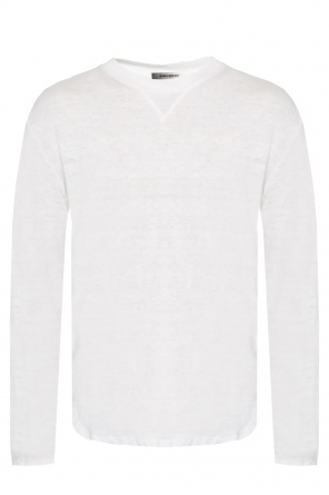 Linen t-shirt with long sleeves od Isabel Marant