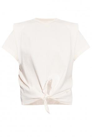 Tie-hem t-shirt od Isabel Marant