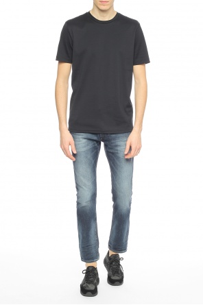 Logo t-shirt od Diesel Black Gold