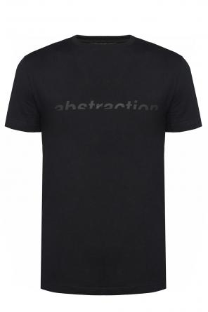 Inscription-printed t-shirt od Diesel Black Gold