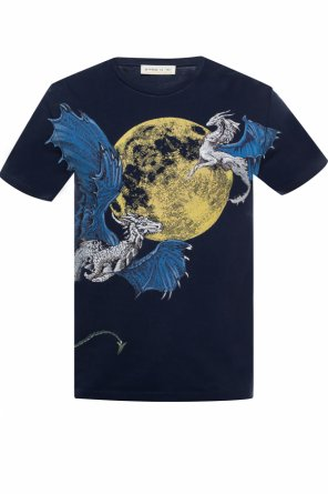 Graphic printed t-shirt od Etro
