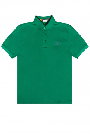 Polo shirt with logo od Etro