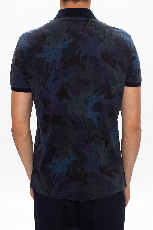 Etro Patterned polo shirt