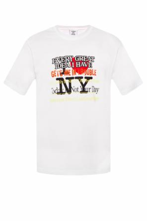 T-shirt with  'new york' motif od Vetements