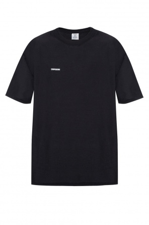 Logo-embroidered t-shirt od Vetements