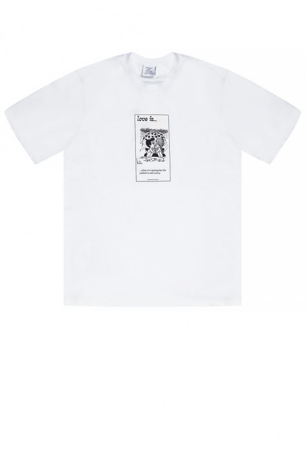 Vetements Printed T-shirt