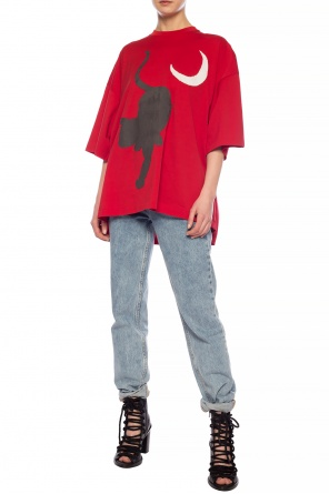 Gathered t-shirt od Undercover