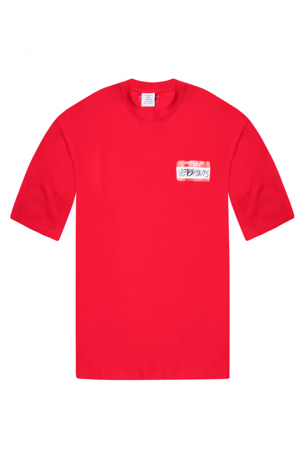VETEMENTS Printed T-shirt