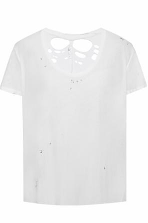 T-shirt with holes od Unravel Project