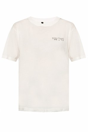 Raw-edge t-shirt od Unravel Project