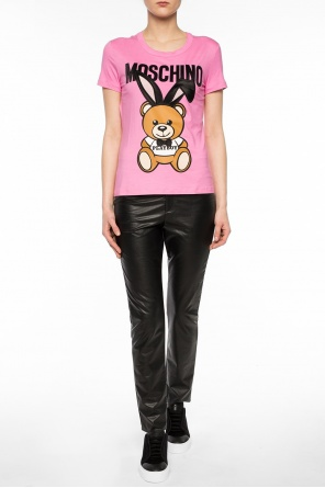 'bear playboy' t-shirt od Moschino