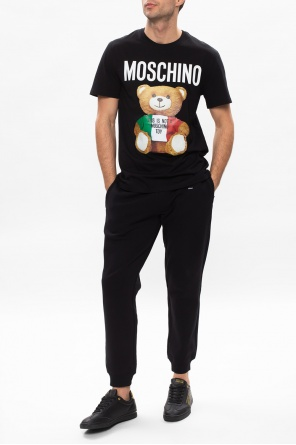 T-shirt with logo od Moschino