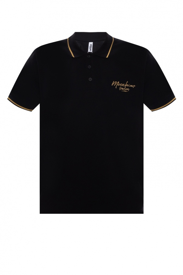 Moschino Logo-printed polo shirt
