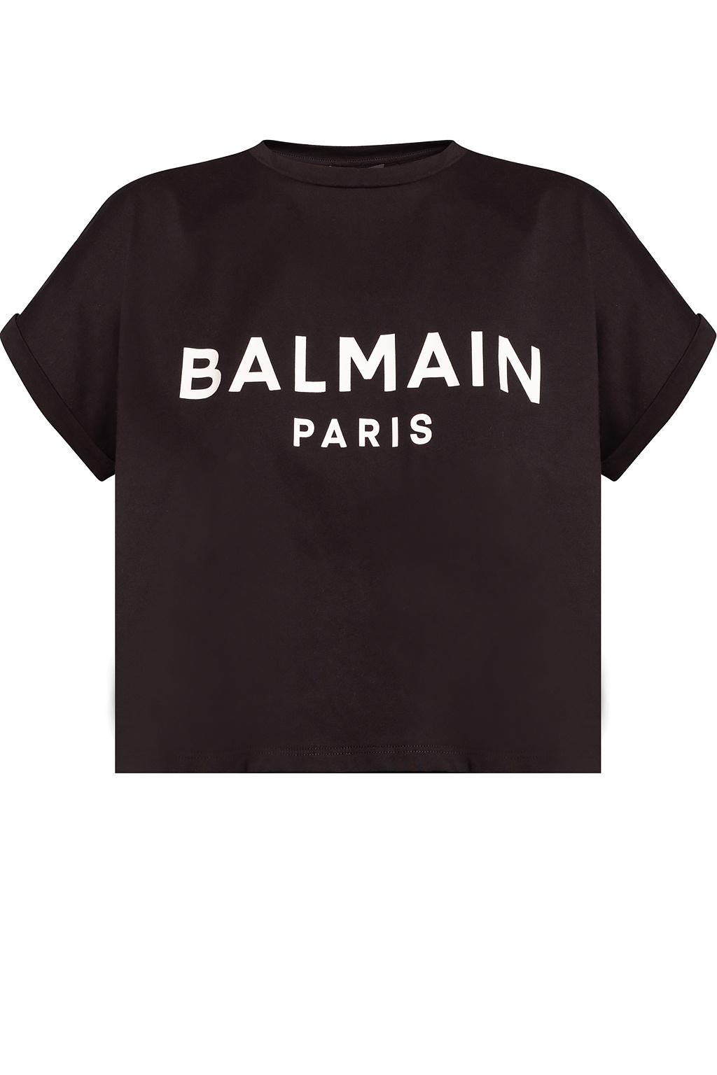 Balmain Cropped T-shirt