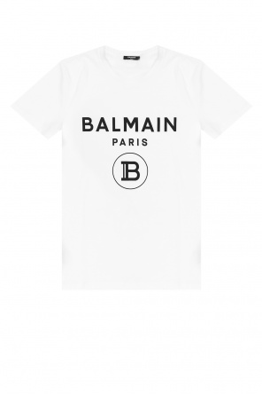 T-shirt with logo od Balmain