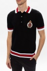 Balmain Cotton polo shirt with logo