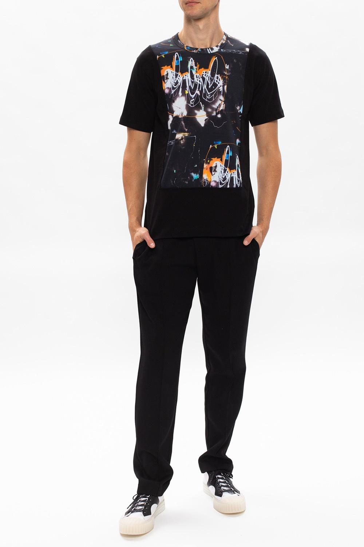 Comme des Garcons Shirt 图案T恤