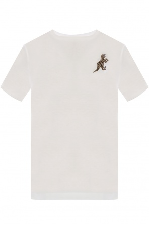 'dino' motif t-shirt od Paul Smith