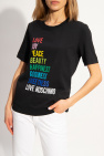 Love Moschino T-shirt with logo