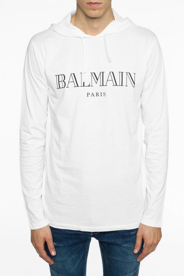 Hooded t-shirt od Balmain
