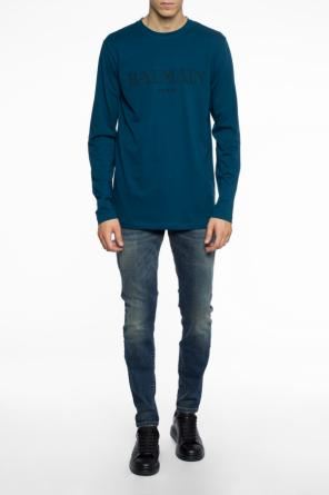 T-shirt with long sleeves od Balmain