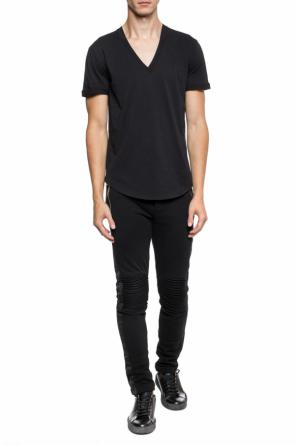 T-shirt with a v-neckline od Balmain