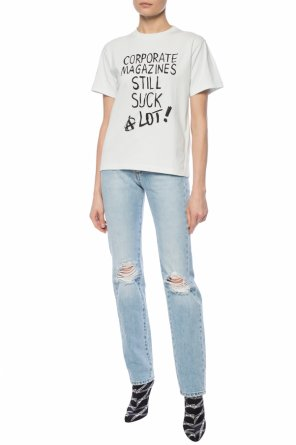 Printed lettering t-shirt od Vetements