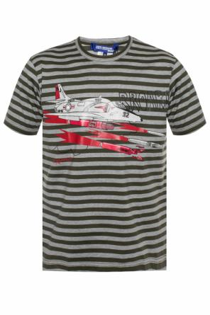 Patterned t-shirt with a print od Junya Watanabe Comme des Garcons