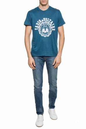 T-shirt with a logo print od Zadig & Voltaire