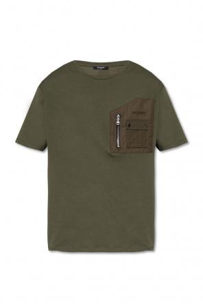 T-shirt with pockets od Balmain
