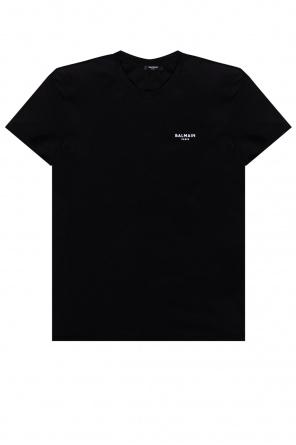T-shirt with logo od Balmain