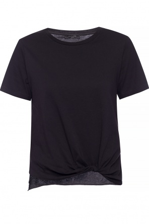 'wilma' raw-edge t-shirt od AllSaints