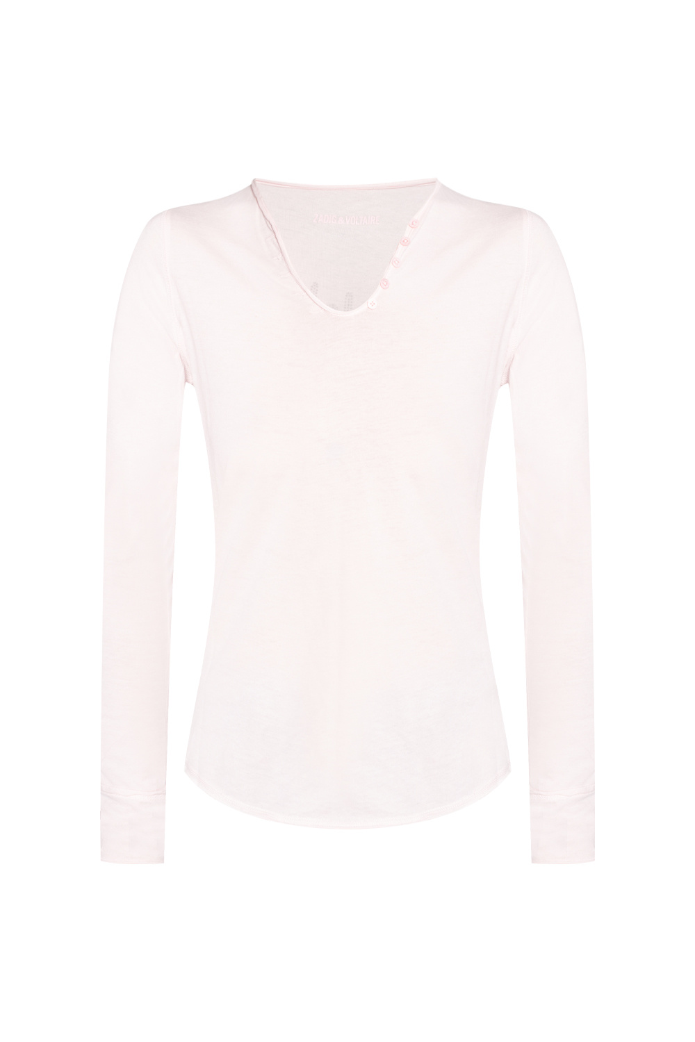 Zadig & Voltaire Top with long sleeves