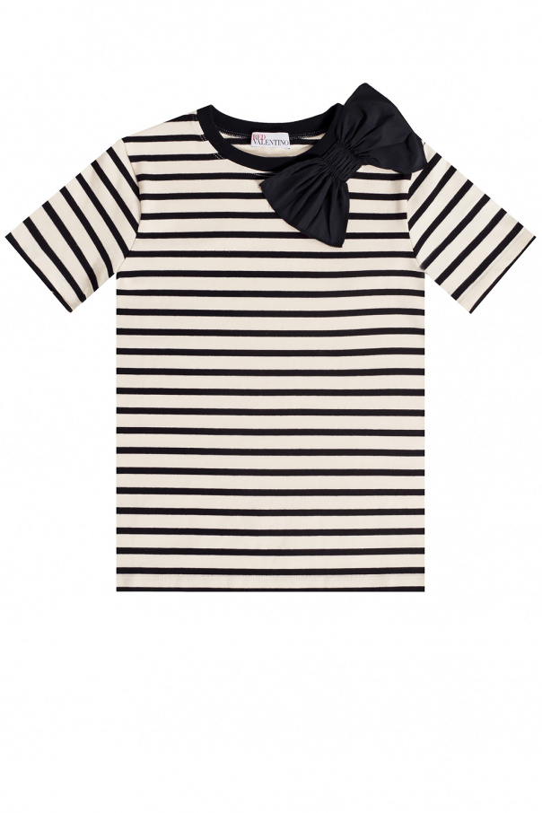 Red Valentino T-shirt with bow