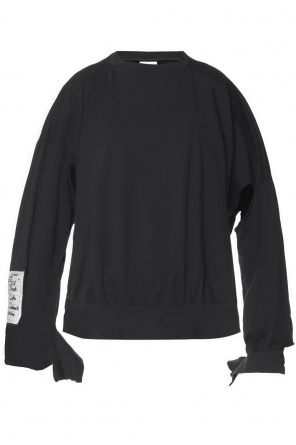 Oversize t-shirt with holes od Vetements