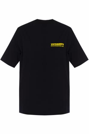 Logo-printed t-shirt od Vetements